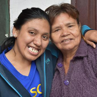 Una joven con discapacidad que inspira a sus compañeros del bachillerato